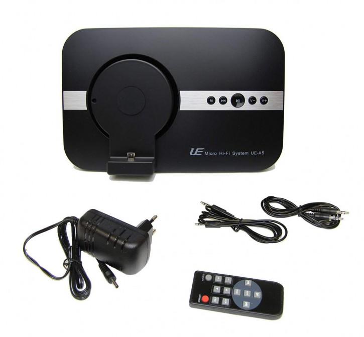 10 Watt Bluethooth Micro USB Soundsystem schwarz von Spartechnik