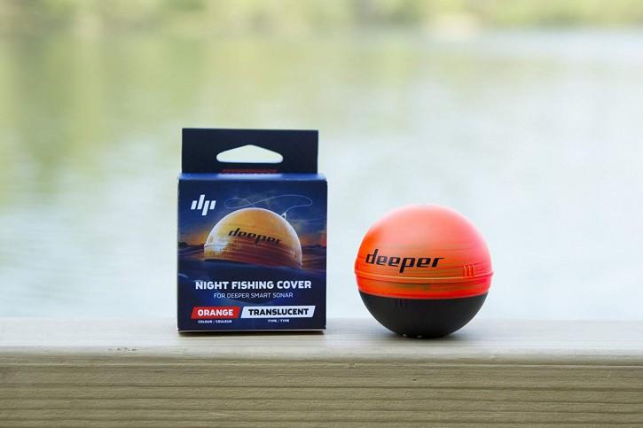 Deeper Nachtangelabdeckung – kompatibel mit Deeper Smart Fischfinder, Orange
