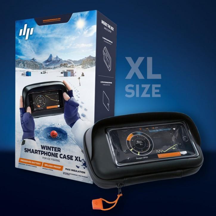 Deeper Winter Smartphone Tasche, Caese XL Schutzhülle für Deeper Smartphones