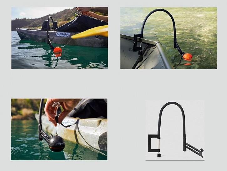 Deeper neuer Flexibler Montagearm für Fischfinder 3.0, PRO oder PRO