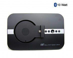 10 Watt Micro USB Soundsystem Bluetooth, Fernbedienung, schwarz von Spartechnik